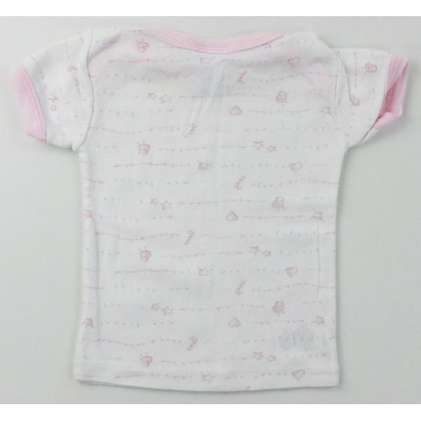 T-Shirt - PETIT BATEAU - 3 maanden (60)