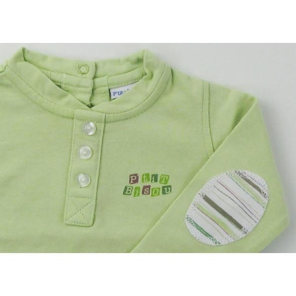 T-Shirt - P'TIT BISOU - 1-3 mois (60)