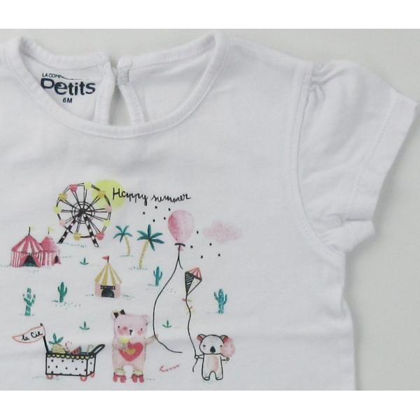 T-Shirt - COMPAGNIE DES PETITS - 6 maanden