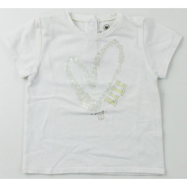 T-Shirt - ELLE - 6-9 mois
