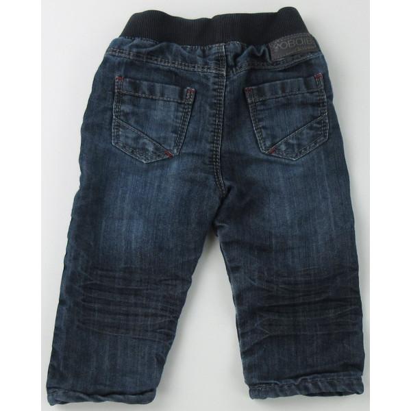 Jeans doublé - OBAÏBI - 6 mois (68)