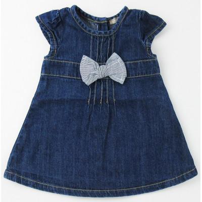 Robe en jeans - GRAIN DE BLÉ - 6 mois (68)