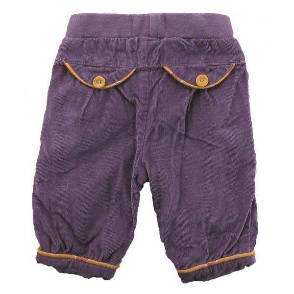 Pantalon doublé - COMPAGNIE DES PETITS - 1 mois