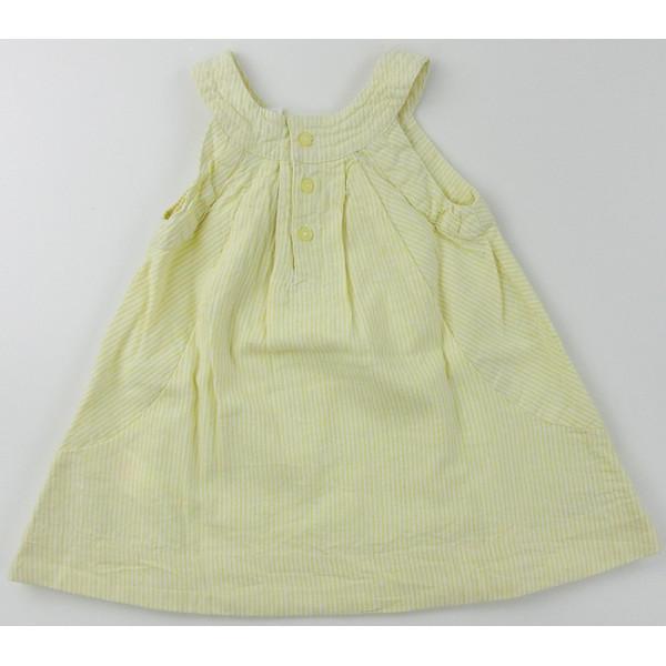 Linnen jurk - OBAÏBI - 6 maanden (67)