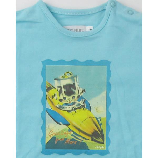 T-Shirt - P'TIT FILOU - 9 maanden (74)