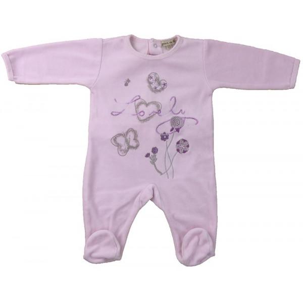 Pyjama - GRAIN DE BLÉ - 1-3 mois (60)