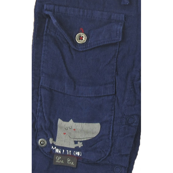 Pantalon doublé - COMPAGNIE DES PETITS - 6 mois