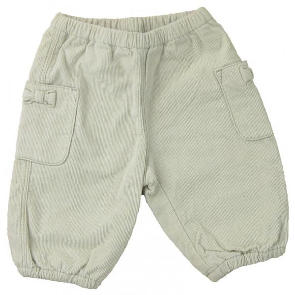 Pantalon - PETIT BATEAU - 1-3 mois (60)