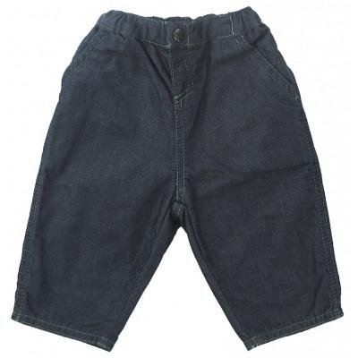 Jeans doublé - PETIT BATEAU - 3 mois (60)