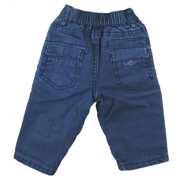 Gevoerde jeans - GRAIN DE BLÉ - 6 maanden (67)