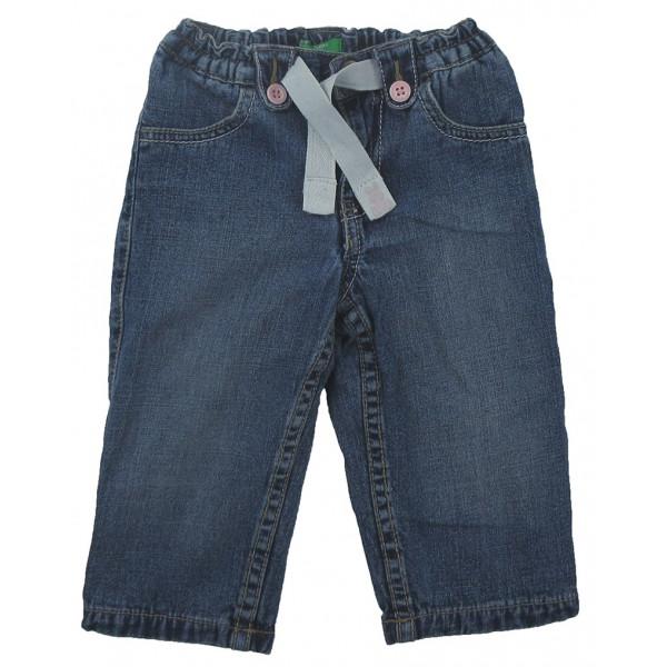 Jeans - BENETTON - 6-9 mois (68)