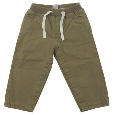 Pantalon doublé - PETIT BATEAU - 18 mois (81)