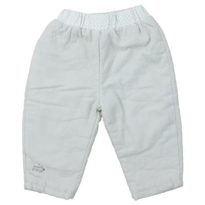 Pantalon doublé - SUCRE D'ORGE - 6 mois (68)