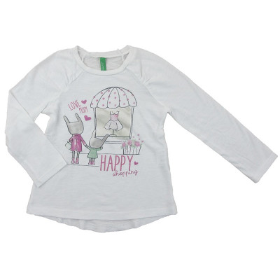 T-Shirt - BENETTON - 3-4 ans (100)