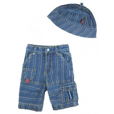 Pantalon + Bonnet - LA COMPAGNIE DES PETITS - 3 mois