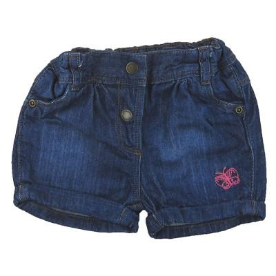 Short en jeans - VERTBAUDET - 9 mois (71)