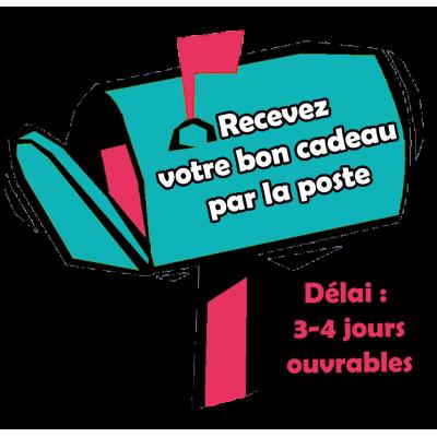 Bon cadeau de 50€ - Par la poste - (délai : 3-4 jours)