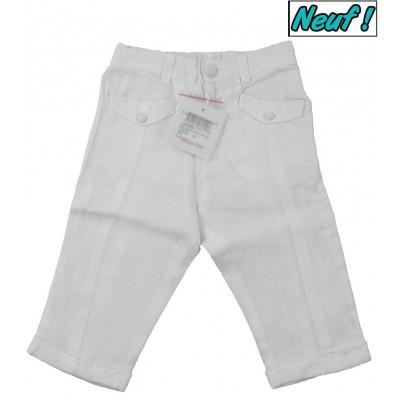 Pantalon neuf en lin - DPAM - 6 mois (67)