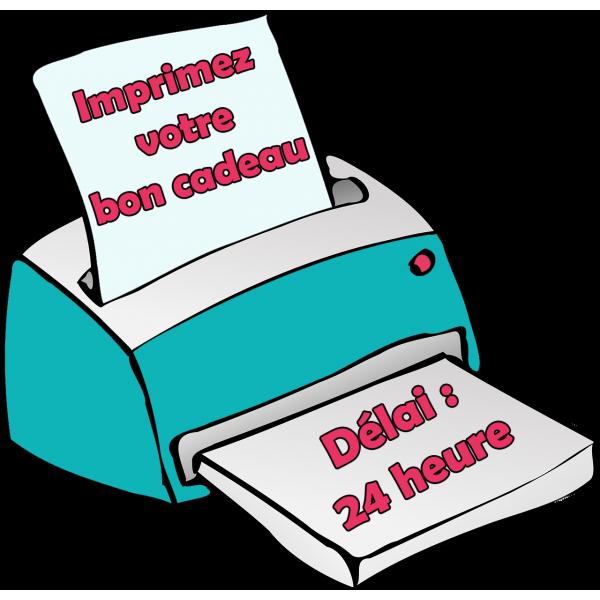 Bon cadeau de 90€ - A imprimer - (délai : 24h)
