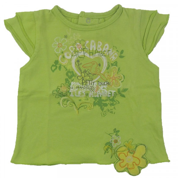 T-Shirt - ALPHABET - 3 mois (60)