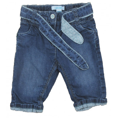 Jeans - Okaidi-Obaibi - 6 mois