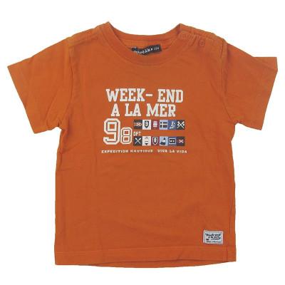 T-Shirt - WEEKEND A LA MER - 23 mois