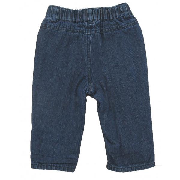 Jeans doublé - VERTBAUDET - 6 mois (67)