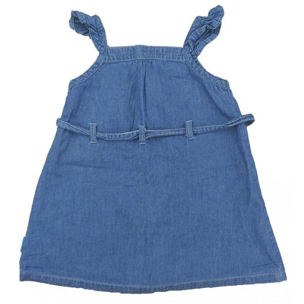 Jurk - in spijkerbroek - 12 maanden