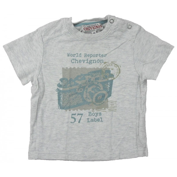 T-Shirt - CHEVIGNON - 9 mois