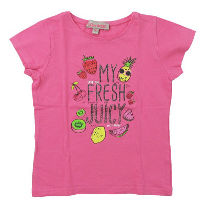 T-Shirt - LISA ROSE - 4 ans (104)