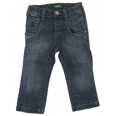 Jeans - BENETTON - 18 mois (82)
