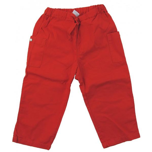 Pantalon - PETIT BATEAU - 2 ans (86)