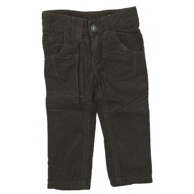 Pantalon doublé - BENETTON - 9-12 mois (74)