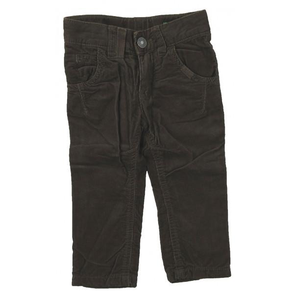 Pantalon - BENETTON - 9-12 mois (74)