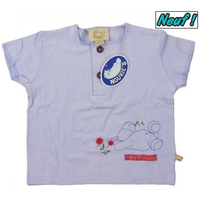 T-Shirt neuf - NOUKIE'S - 6 mois (68)