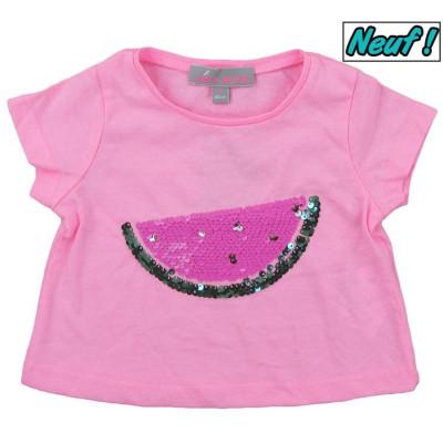 T-Shirt neuf - LISA ROSE - 2 ans (86)