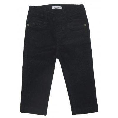Pantalon paillettes argentées - 3 POMMES - 12 mois (74)