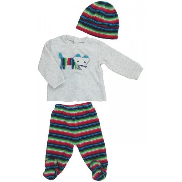 Ensemble pyjama - BOBOLI - 6 mois