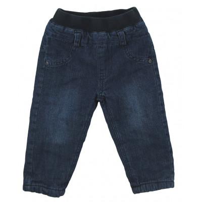 Jeans doublé polaire - 3 POMMES - 6 mois (68)