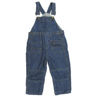 Salopette en jeans - GRAIN DE BLÉ - 18 mois (81)