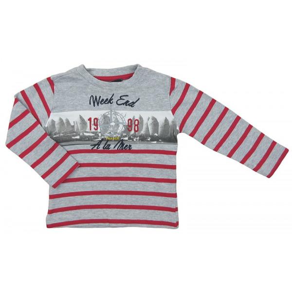 T-Shirt - WEEKEND A LA MER - 12 mois