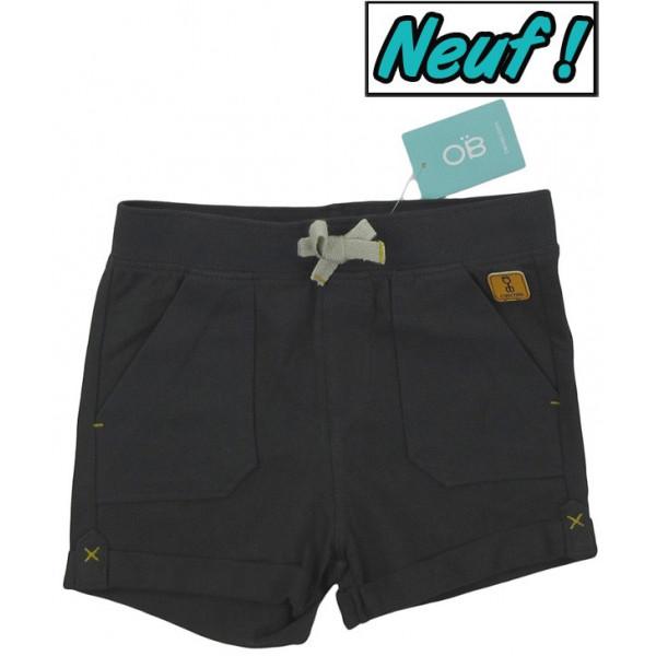 Short neuf - OBAÏBI - 18 mois (80)