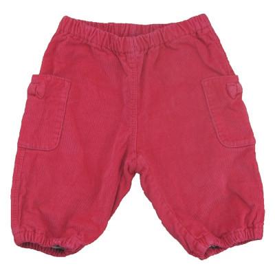 Pantalon doublé - PETIT BATEAU - 3 mois (60)