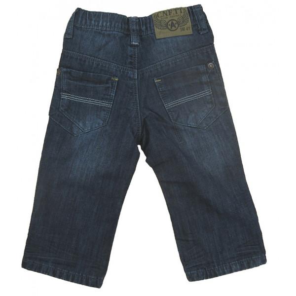 Gevoerde jeans - CONFETTI - 12 maanden (74)