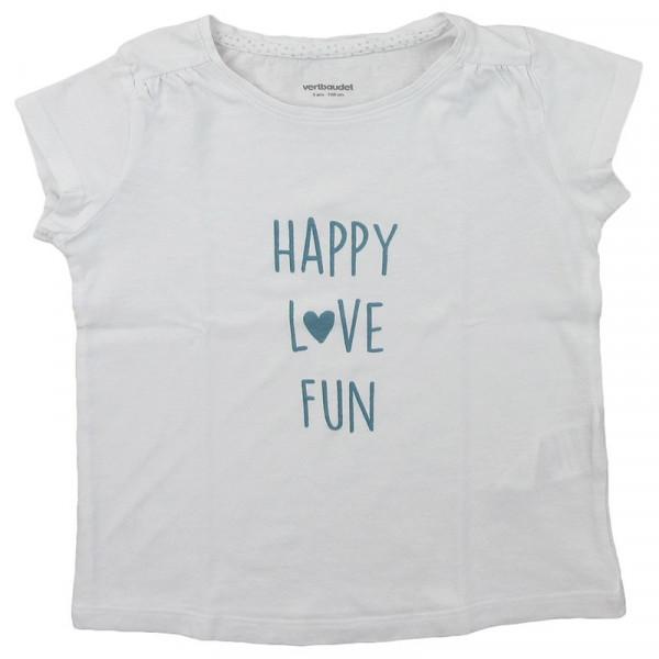 T-Shirt - VERTBAUDET - 5 ans (108)
