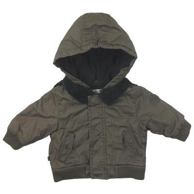 Manteau doublé polaire - OBAÏBI - 3 mois (60)