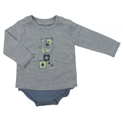 T-Shirt - BRIOCHE - 6 mois (68)