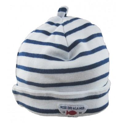 Bonnet - WEEKEND A LA MER - Taille 1 (3-6 mois)