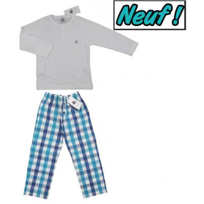 Pyjama neuf - PETIT BATEAU - 4 ans (104)