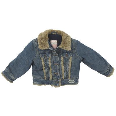 Veste en jeans doublée polaire - MEXX - 2 ans (92)